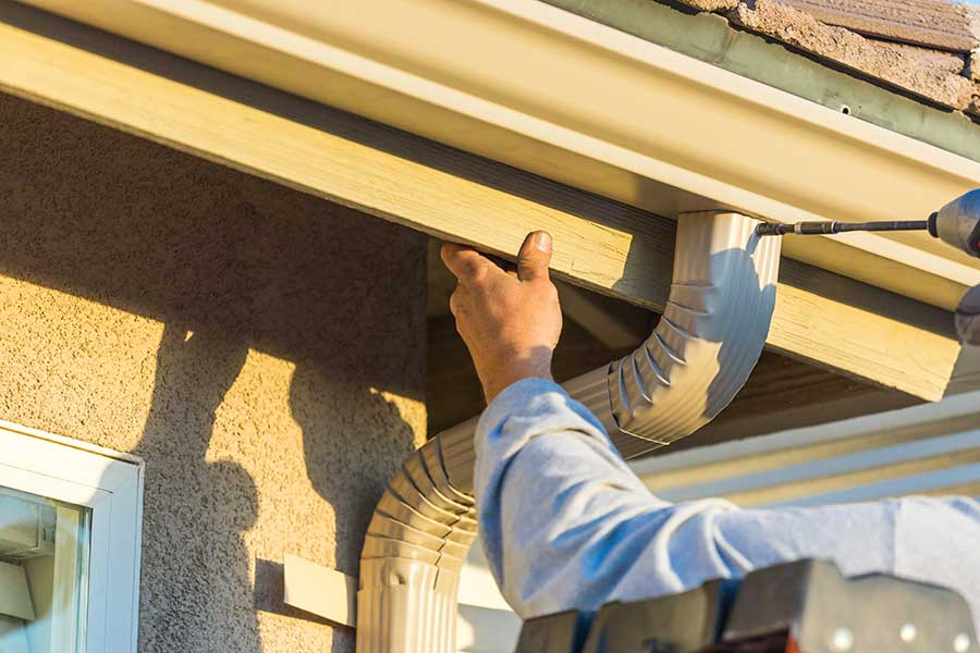 Commercial Gutter & Downspout Installation